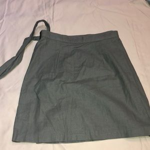 Army Green Skirt that Ties on the Side